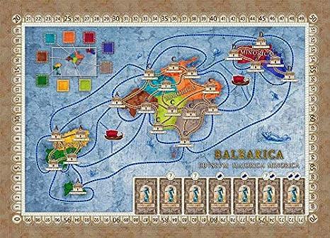 Ediciones MasQueoca - Concordia Expansion Balearica y Cyprus (Español)(Portugués): Amazon.es: Juguetes y juegos