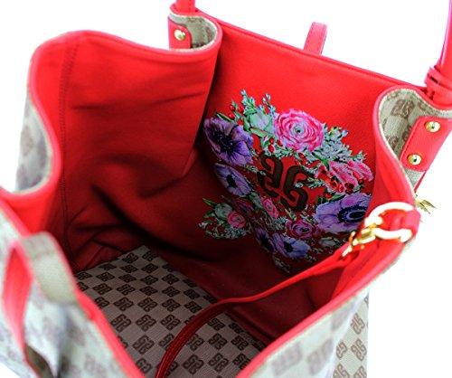 Monogramma Hobo Rosso Guidi Reversible Bag Piero OvUpUq
