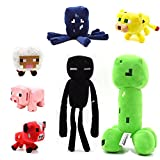 TISEA Hot Game Animal Plush Series (One Set 7 Pcs, 13-25cm)