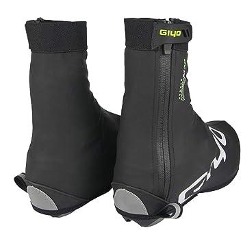 Leiyini Regen Stiefel Überschuh verdicken Wiederverwendbare Fahrradschuhe Decken Winter Winddicht wasserdicht Überschuhe warm Radfahren Überschuhe für