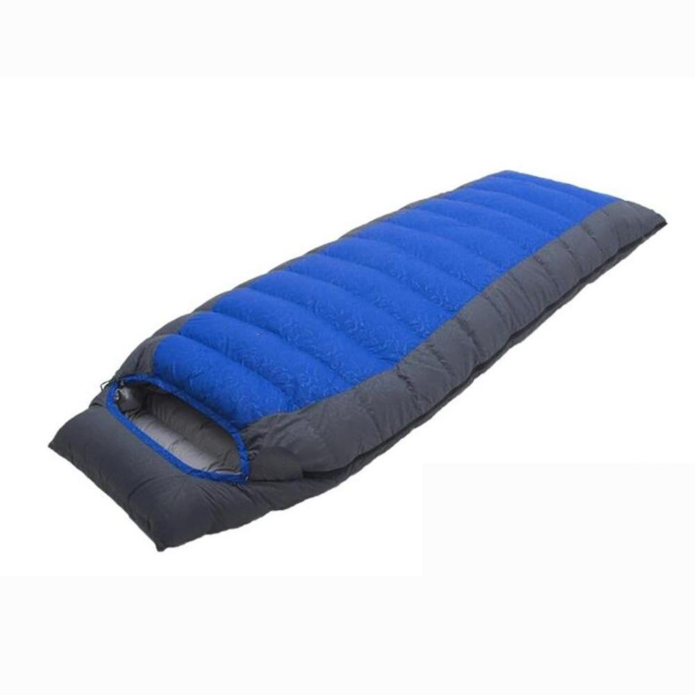 MIAO Sleeping Bag - Outdoor Camping Envelope 1500g Down Sleeping Bags For Home / Office Lunch Break / Overtime and Other Occasions , blue