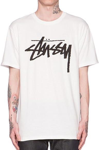 Camiseta Stussy – Stock Tee blanco talla: XL (X-Large): Amazon.es: Ropa y accesorios