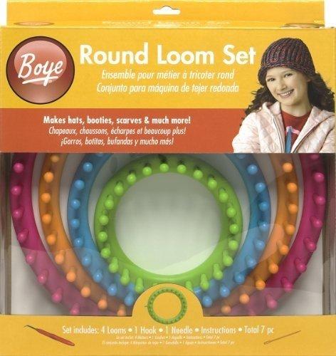 Boye Round Loom Set (Round Knitting Loom)