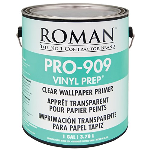 Roman 010201 PRO-909 Vinyl Prep Acrylic Wallpaper Primer, 1 ()