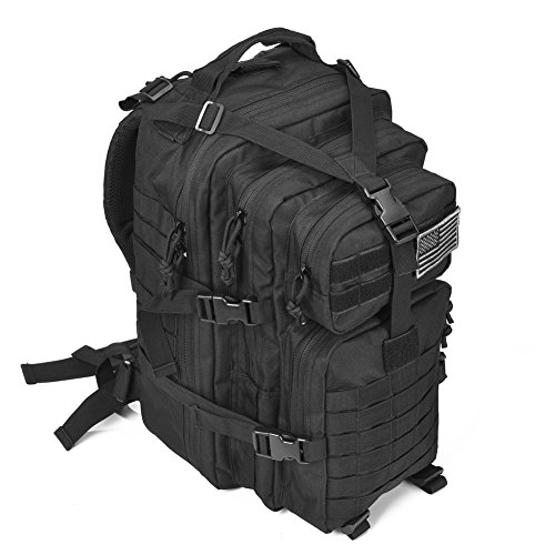Military tactical assault pack backpack army molle bug out for Ap fishing backpack