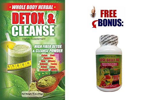 WHOLE BODY CLEANSE and DETOX POWDER - 14 OZ - PLUS FREE BONUS