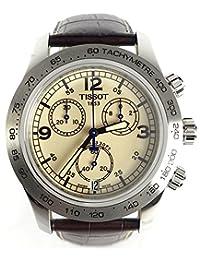Tissot V8 Steel Chronograph Brown Mens Watch T36.1.316.72