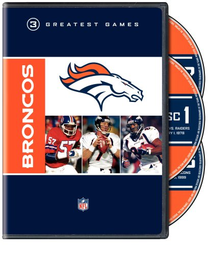 NFL Greatest Games Series: Denver Broncos Greatest Games (Merchandise Elway John)
