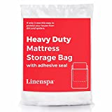 Image of LINENSPA Heavy Duty 6 mil Mattress Bag for Moving, Storage and Disposal - Twin / Twin XL