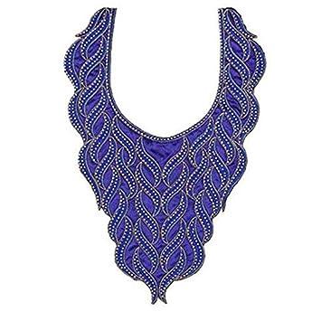 1 x gold metallic Halsband Perlen Strass Hals Halsband Afrikanisches ...