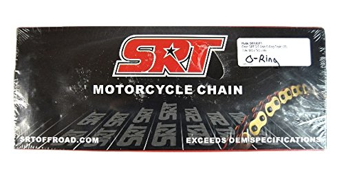 (SRT Offroad Gold O-Ring Dirtbike Chain 520 120L SRT00011 Motorcycle O)