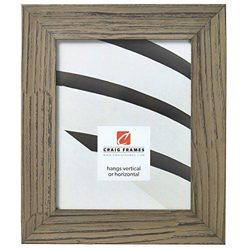 Craig Frames Hausbarn XL Picture Frame, 8.5 x 11 Inch, Wolf Grey Barnwood