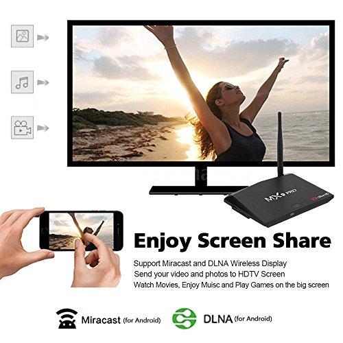 MX9 Pro RK3328 Quad Core 64Bit 4GB 32GB Smart Android 7.1 TV Box 4K Dual WIFI BT by NOOOSHI (Image #2)