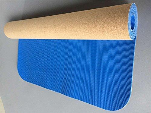 Shi18Sport 5 mm Rutschfeste Natürliche TPE Yoga-Matte Antibakterielle Bad Teppich Atmungsgymnastik Matten Sport Matten Yoga Übung Pads
