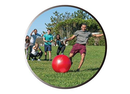 51TI99AXN6L - Wicked Big Sports Kickball-Supersized Kickball Outdoor Sport Tailgate Backyard Beach Game Fun for All