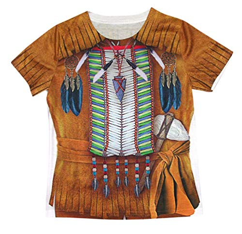 Child Native American Indian Brave T-Shirt Costume ()