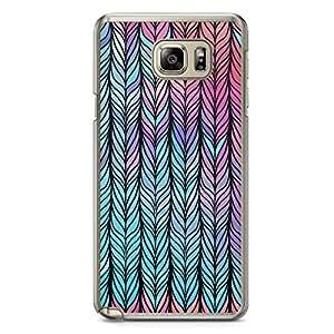 Braid 2 Samsung Note 5 Transparent Edge Case - Braids Collection