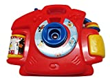Very Attractive Projector Camera in Red Color for Kids, Different Type of Cartoons, Unique Gift for Kids (Boys & Girls Both)