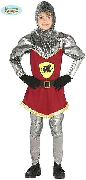Vestito Cavaliere Bambino.Costume Vestito Abito Travestimento Carnevale Bambino Cavaliere Del Dragone Cavaliere Medievale Re Guerriero Taglia 5 6 Anni Amazon It Giochi E Giocattoli