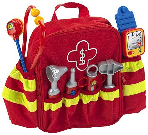 Theo Klein 4314 Rescue Backpack Rettungs-Rucksack, Spiel