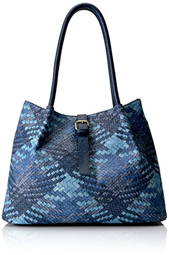 Bueno California Embossed Woven Leather