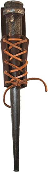 Ironworker Oil Tan Leather Bull Pin Holder Cherry