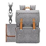 Best Diaper Bags For Moms - Upsimples Diaper Bag Backpack Baby Nappy Diaper Bag Review
