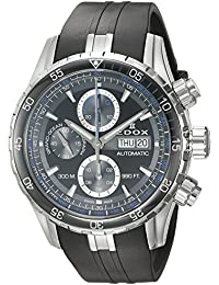 Men's 'Grand Ocean' Swiss Automatic Stainless Steel and Rubber Diving Watch, Color:Black (Model: 01123 3BUCA NBUN)