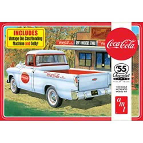 AMT 1094 1955 Chevrolet Cameo Pickup Coca Cola Edition ()