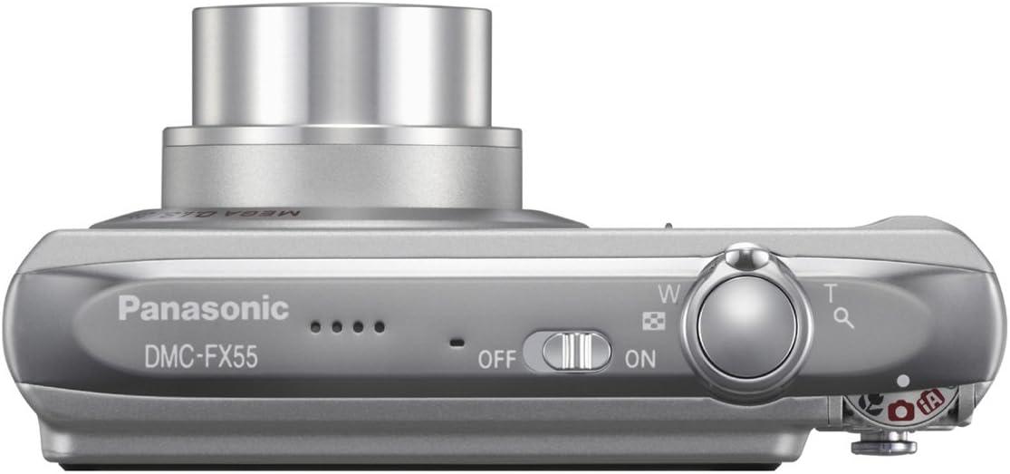 Panasonic Dmc Fx55 Eg S Digitalkamera 3 Zoll Silber Kamera