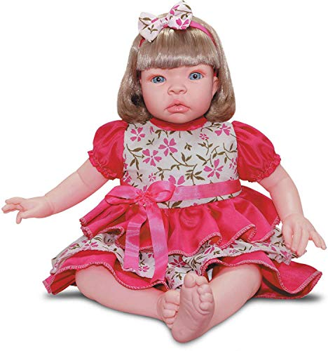 Boneca Baby Kiss Loira Sid-Nyl