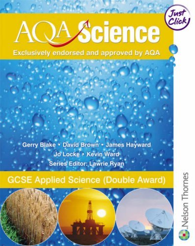 GCSE Appled Science (Double Award) (Aqa Science) by Gerry Blake - Mall Shopping Hayward