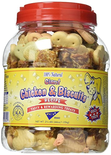 PCI Giant Chicken and Biscuits, 2 3/4lb. Jar by PCI