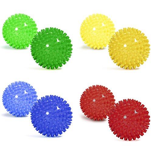 Yes4All-Spiky-ExerciseSpiky-Massage-Ball-Best-for-Deep-Tissue-Massage-Set-of-2