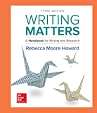 img - for Writing Matters: A Handbook for Writing and Research (Comprehensive Edition with Exercises) book / textbook / text book
