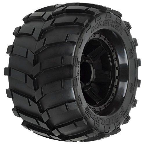 r 3.8 Tires 1/2 Offset Wheels, 17mm, Black ()