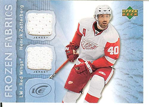 2007-08 Ice Frozen Fabrics #FFHZ Henrik Zetterberg MEM from Unknown
