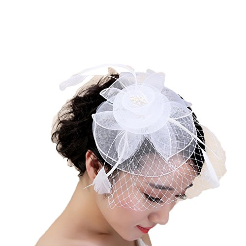 FloYoung Fascinator Formal Wedding Accessories product image