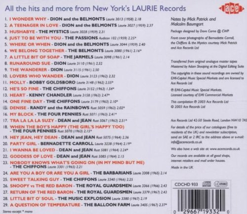 Laurie Records Story / Various