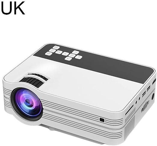 Proyector Mini proyector UB-10 con Interfaz de TV Proyector ...