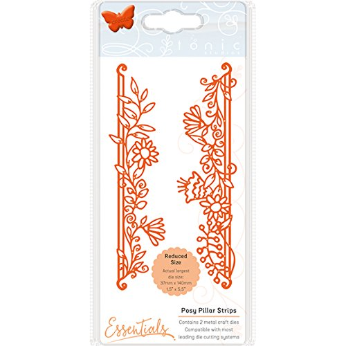TONIC STUDIOS 1536E Fanciful Floral Die-Posy Pillars