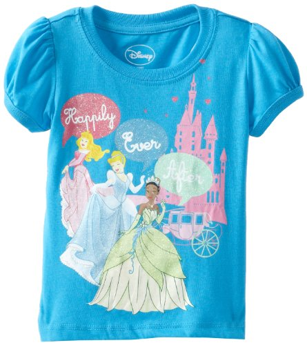 Disney zhst003 1w20 disney princess baby girls 39 happily for Disney happily ever after shirt