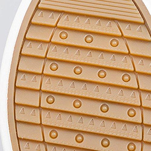 Scarpe Coreane Spesso Scarpe Donna Basse Sandales Selvaggio Nuovo Estate Fondo Scarpe Blue Studente Bianche Traspirante White Scarpe Scarpe di Tela Piccole wgpxUn6g
