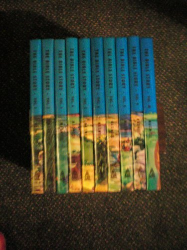 The Bible Story -- 10 Volume Set -- More Than 400 Stories in 10 Volumes Covering Entire Bible From Genesis to Revelation -- 1957 Arthur S. Maxwell