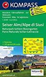 Seiser Alm /Alpe di Siusi: Wanderkarte mit Panorama, Radrouten und Skitouren. GPS-genau. 1:25000 (KOMPASS-Wanderkarten, Band 67)