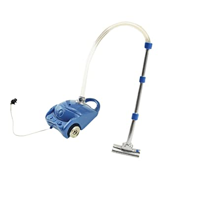 zhenleisier Dollhouse Model,Kids Toy Miniature Resin Vacuum Cleaner Sweeper Dollhouse Accessories Decor Gift Blue: Kitchen & Dining