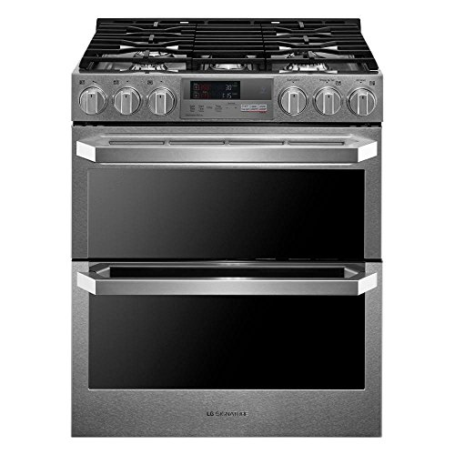 Price comparison product image LG LUTD4919SN 7.3 Cu.ft. Dual Fuel - Double Oven Range with ProBake Convection
