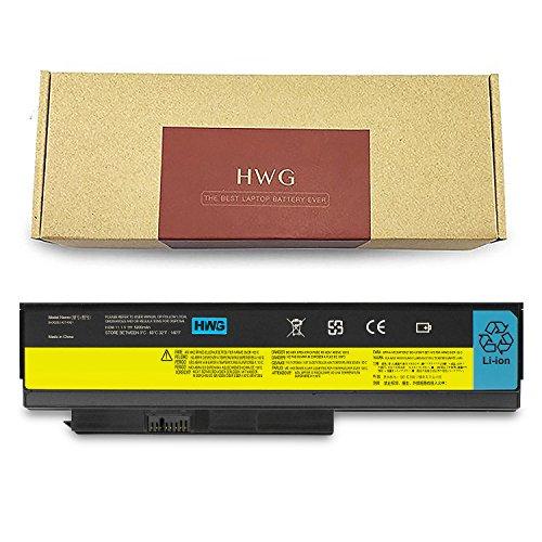 HWG X220 Battery 6 Cells for Lenovo ThinkPad X220 X220i X220s 0A36281 0A36282 0A36283 42T4863 42Y4864 42Y4868 42T4902 42Y4940 (11.1V/5200mAh)
