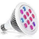 Best Oak Leaf Light Bulbs - LED Grow Light,Oak Leaf 24W Plant Bulb High Review