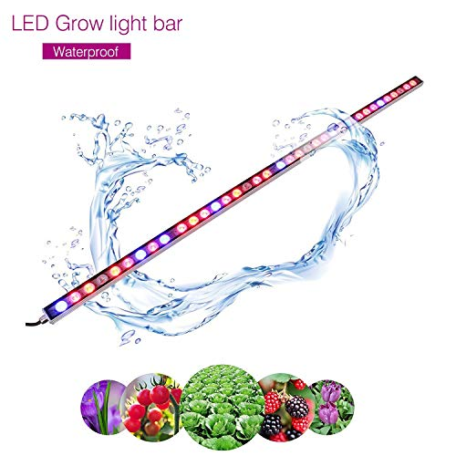LED Grow Light, 108W Waterproof growing light bar with UV/IR/Red/Blue Spectrum for Garden Greenhouse Hydroponic Indoor Plants Growing by Lightimetunnel by Lightimetunnel (Image #7)